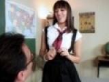 Etudiante baisee en cours