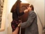 Jeune fille baise avec un mec aveugle