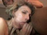 Il baise sa vieille proprietaire en double penetration